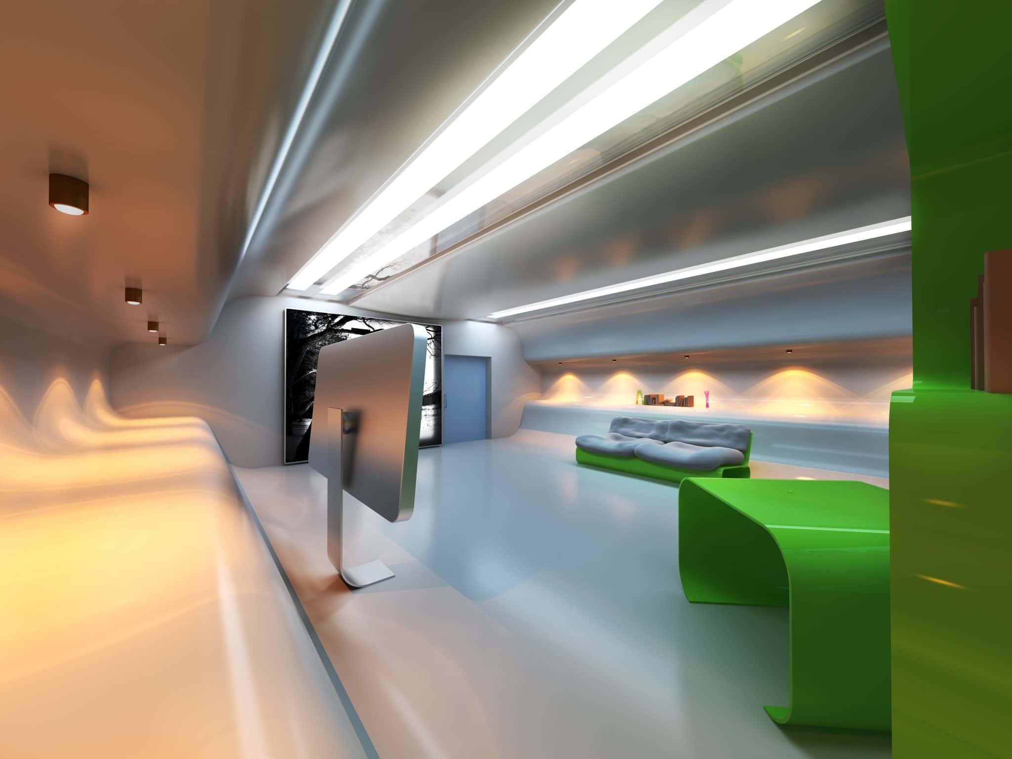 Een epoxyvloer voor ieder interieur
