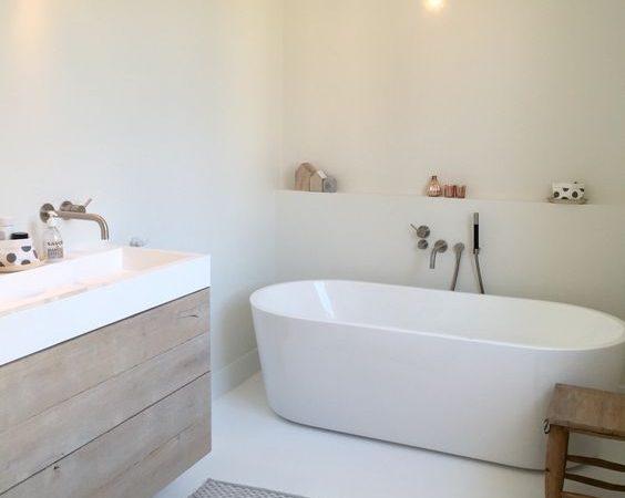 De voordelen van een gietvloer in de badkamer